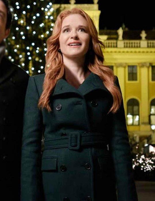 Sarah-Drew-Green-Coat