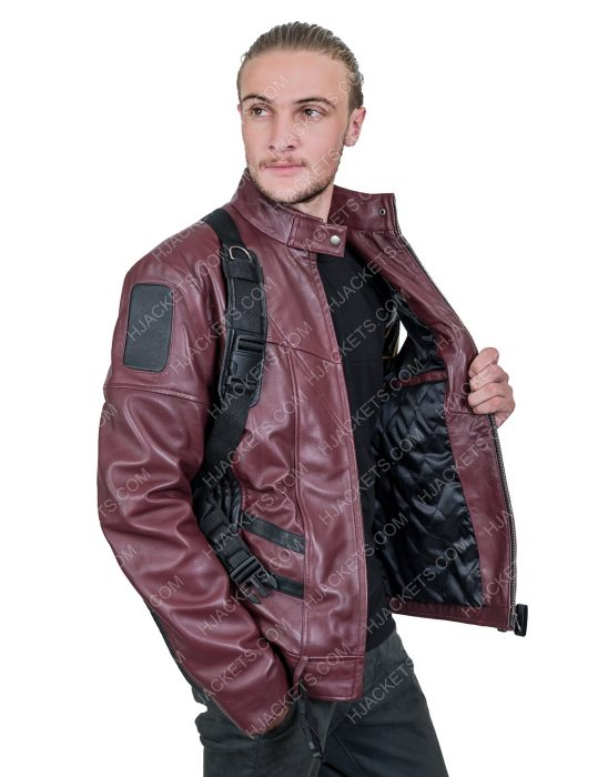 Sebastian StanThe Falcon And The Winter Soldier maroon Jacket