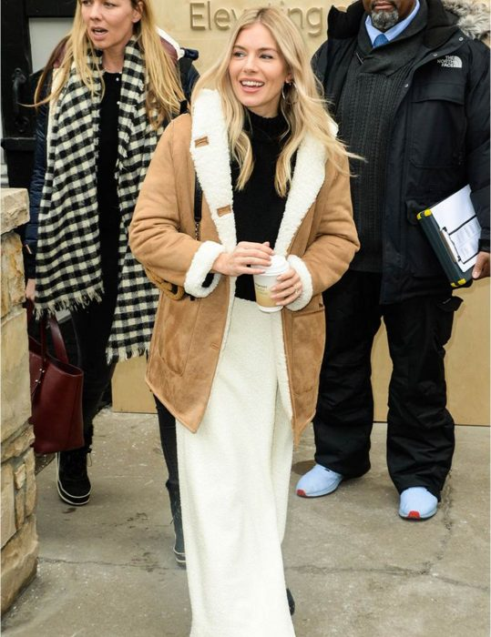 Sienna-Miller-Shearling-mid-Length-Coat