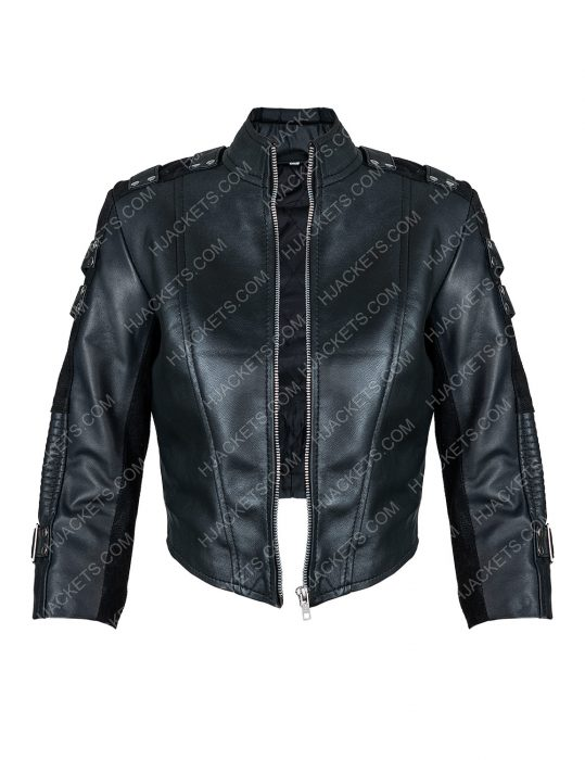 arrow season 2 black canary leather jacket