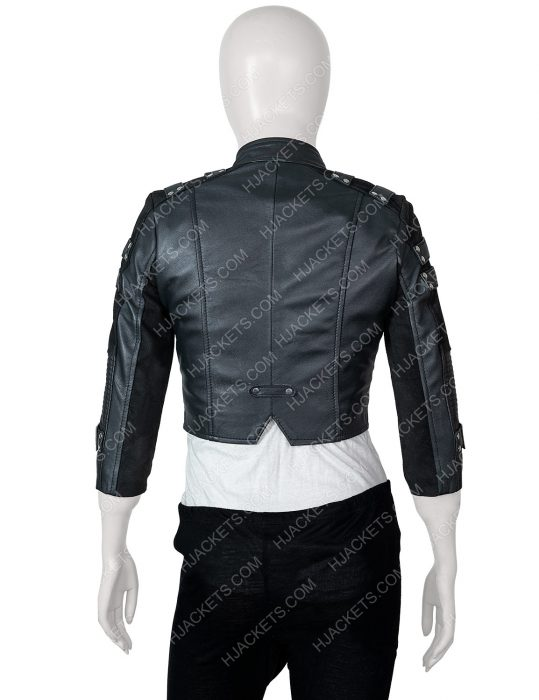 arrow season 2 leather jacket