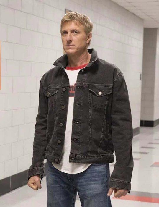 cobra kai johnny lawrence denim jacket
