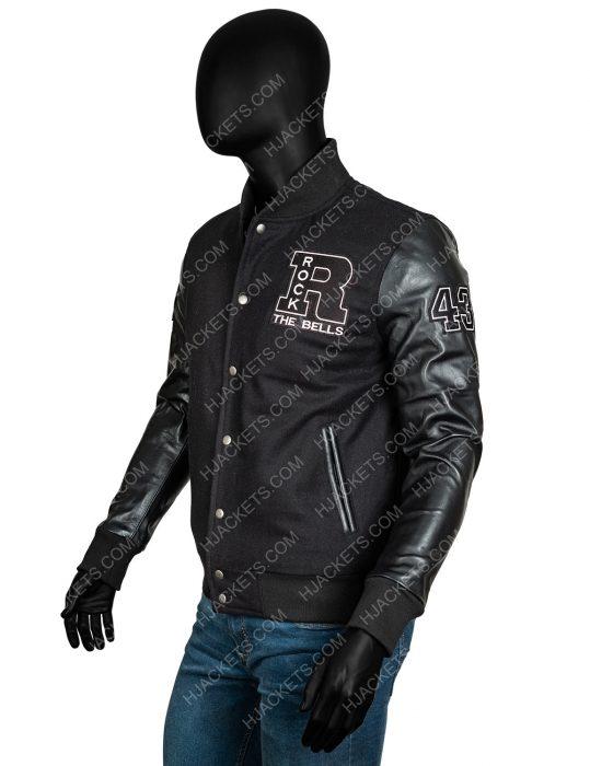 ll cool j rock the bells letterman bomber jacket