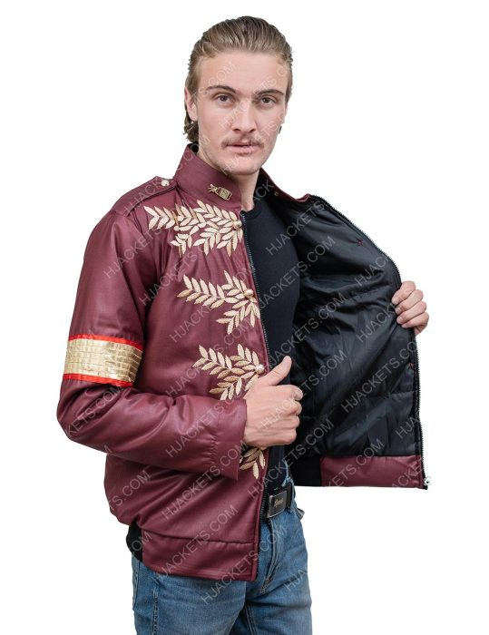 michael jackson military leather jacket