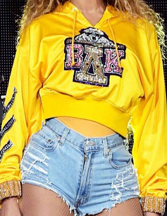 Beyonce-Coachella-hot-yellow-Hoodie