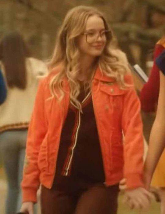 Firefly-Lane-Sarah-Chalke-Orange-Jacket
