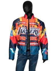 Los Angeles Lakers 2000 Championship Leather Jacket