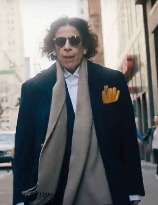 Pretend-It's-A-City-Fran-Lebowitz-Blue-Trench-Coat