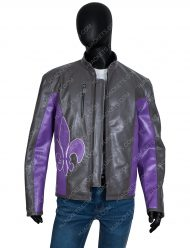 Saints Row Johnny Gat Distressed Leather Jacket