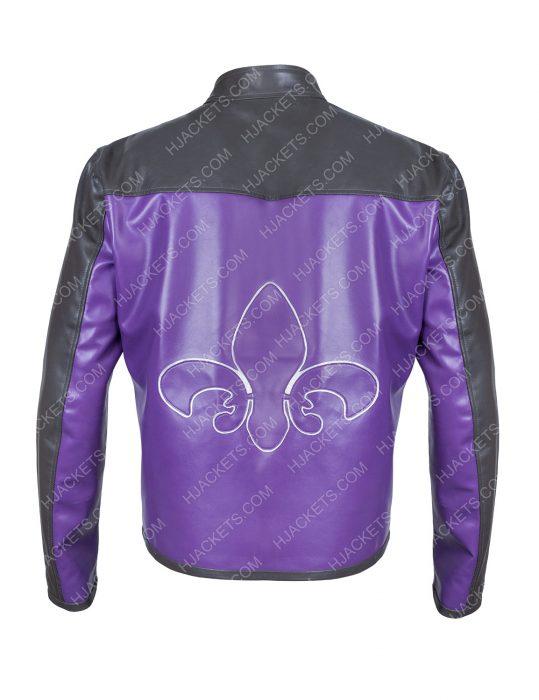Saints Row Johnny Gat Leather Moto Jacket
