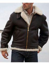 Sylvester-Stallone-Shearling-Bomber-Aviator-Leather-Jacket