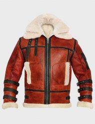 aviator b6 sheepskin leather jacket