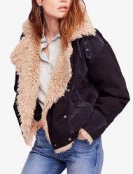 taylor swift sherpa aviator fur jacket