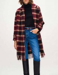 Jill-Halfpenny-The-Drowning-2021-Jodie-Checked-Fringe-Wool-Blend-Coat