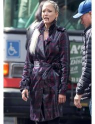 Pom-Klementieff-Thunder-Force-trench-Coat
