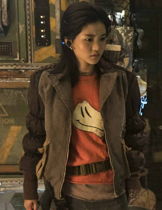 Space-Sweepers-Kim-Tae-Ri-Brown-Jacket