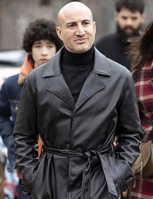 The-Drowning-2021-Shashi-Rami-Leather-Coat