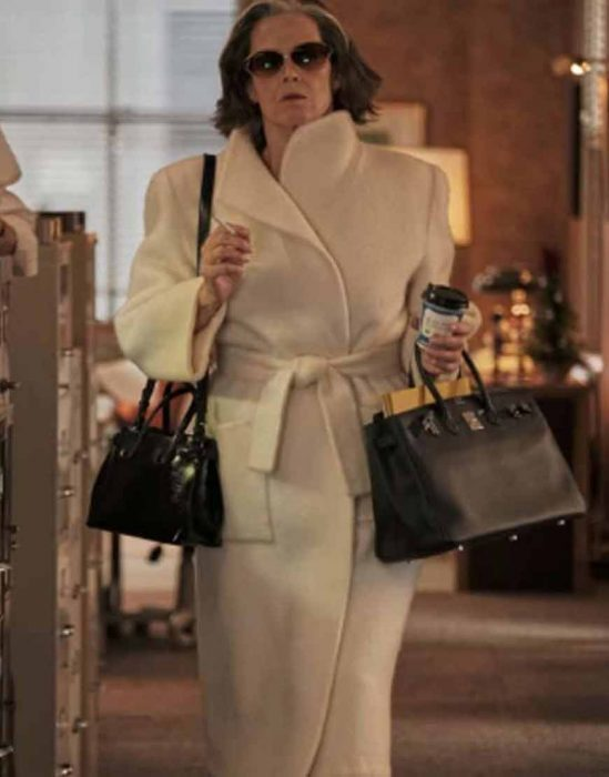 sigourney weaver my salinger year 2021 margaret white trench coat