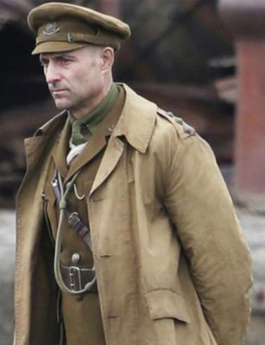 1917-Movie-Mark-Strong-Trench-Coat