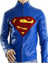 Superman-And-Lois-Blue-Leather-Jacket