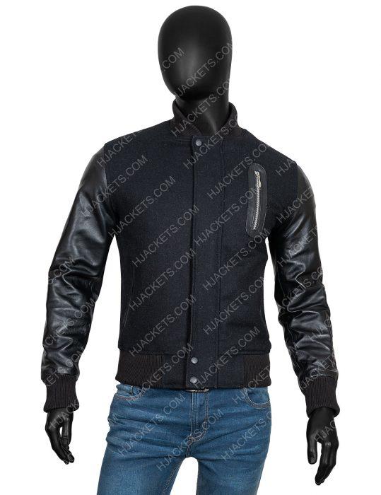 creed movie michael b jordan bomber black jacket