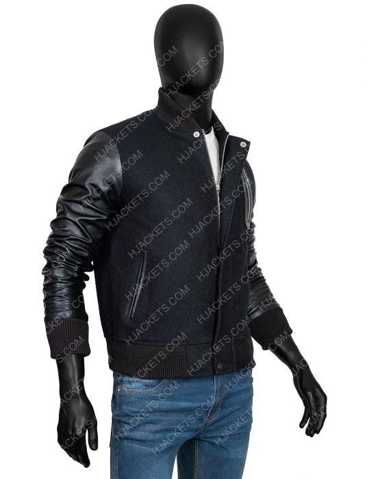 michael b jordan bomber jacket