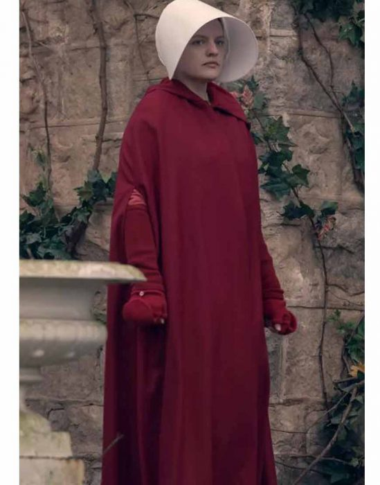 the handmaid's tale s04 elisabeth moss red coat