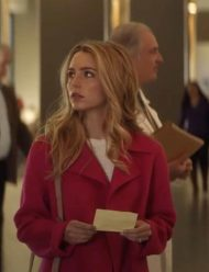 All-My-Life-Jessica-Rothe-Trench-Coat