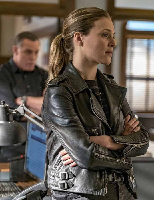 Chicago-P.D.-Hailey-Upton-Leather-Jacket