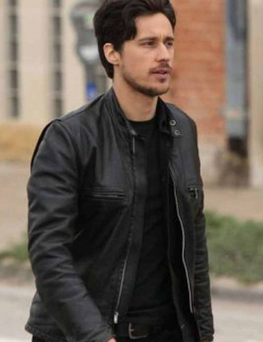 Queen-Of-The-South-Peter-Gadiot-black-Jacket