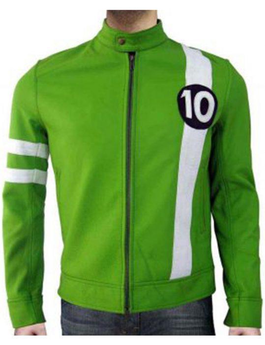 Tom-Holland-Ben-10-Leather-Jacket