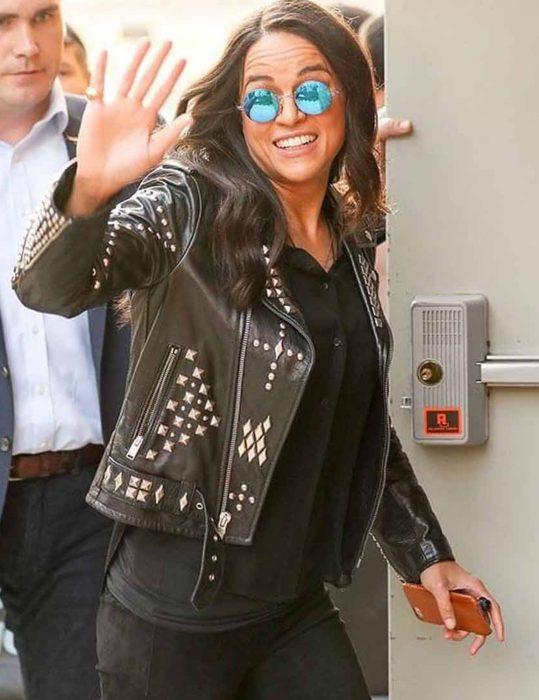 F9-Michelle-Rodriguez-Studded-Jacket