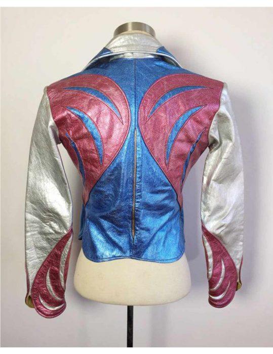 Girlboss-Britt-Robertson-East-West-Multi-Color-Jacket