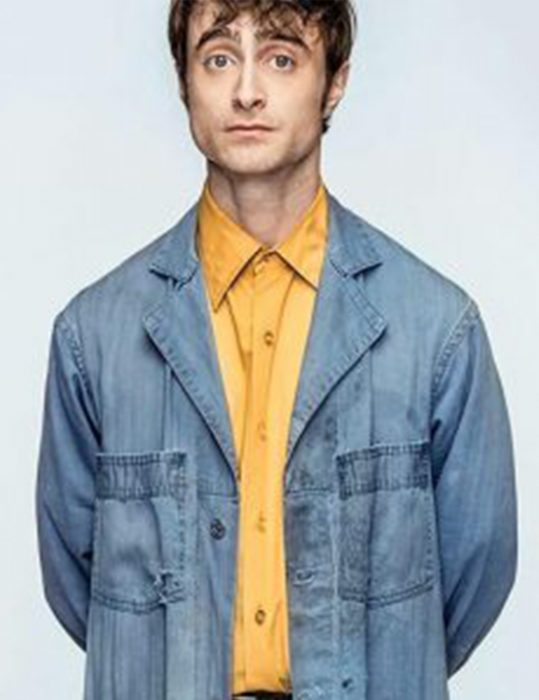 Miracle-Workers-Daniel-Radcliffe-Trench-Coat