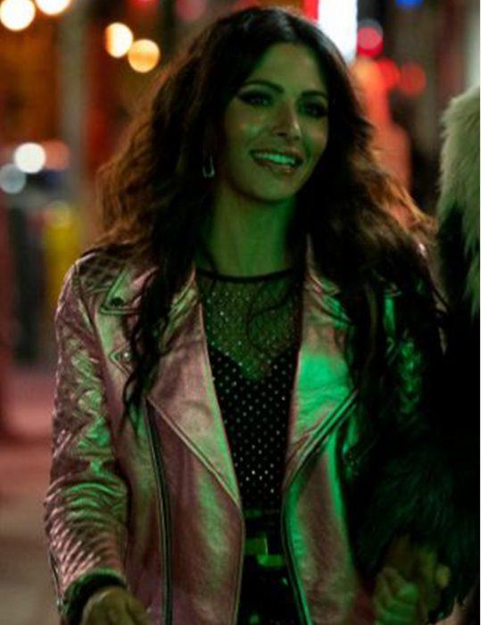 SexLife-Sarah-Shahi-Jacket