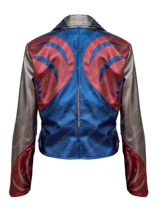 sophia Girlboss Britt Robertson East West Leather Jacket