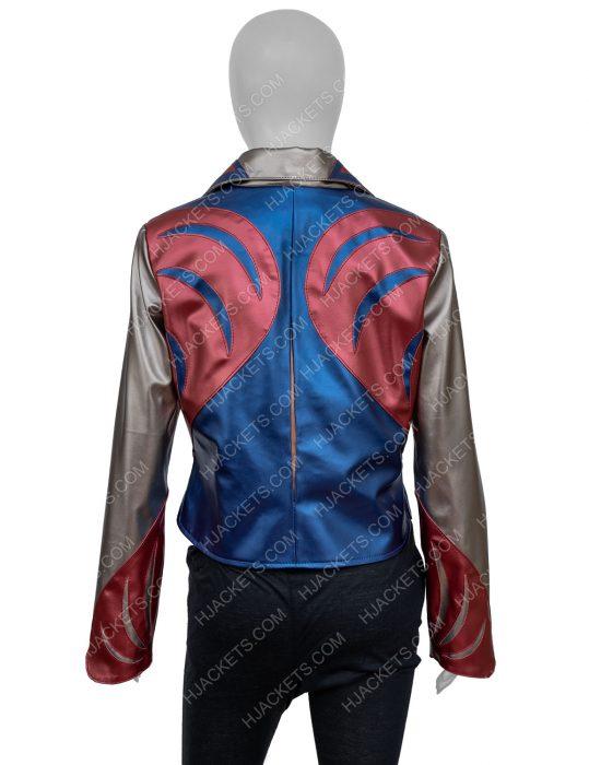 sophia Girlboss Britt Robertson East West Leather Jacket for womens