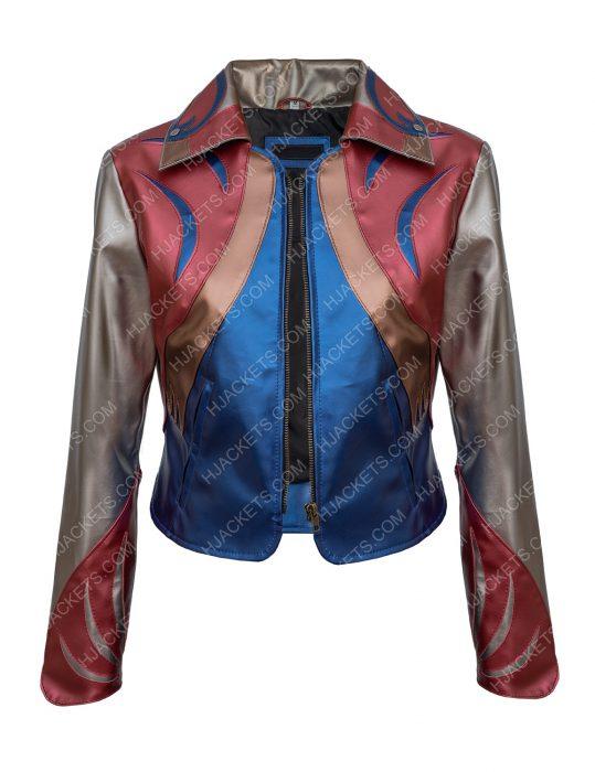 sophia Girlboss East West Leather Jacket