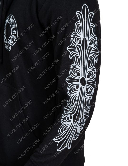 Chrome Hearts Floral Hoodie For Men