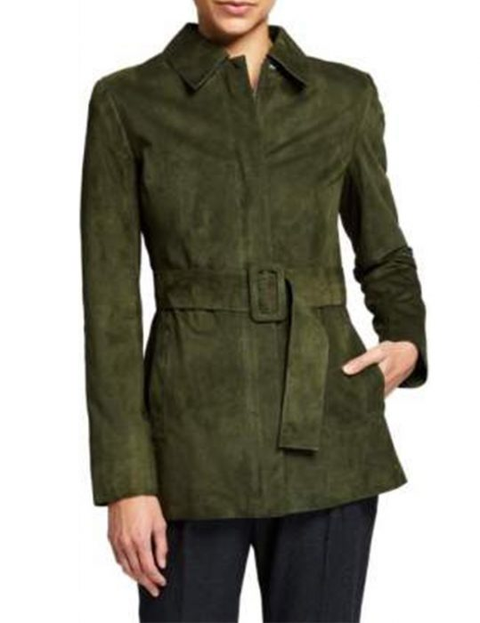 Evil-Season-02-Kristen-Bouchard-Suede-Green-Jacket