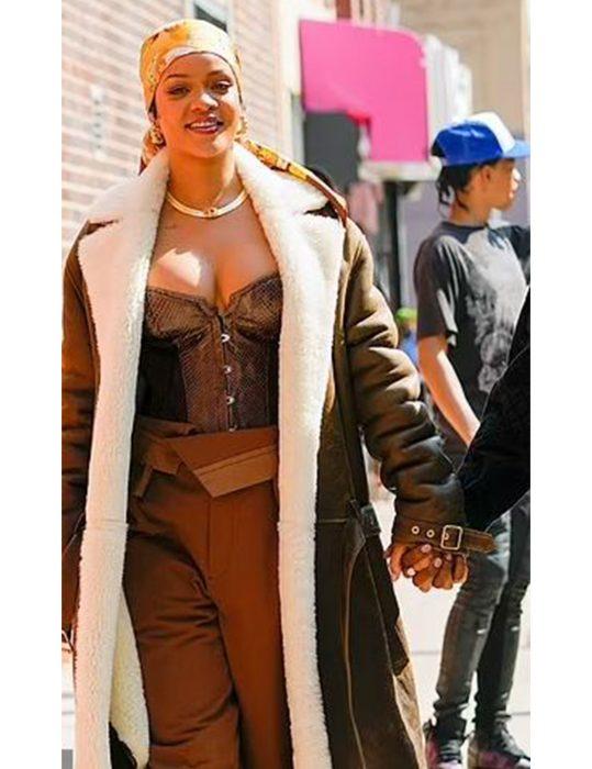 Rihanna-The-Bronx-Of-New-York-City-Long-Coat