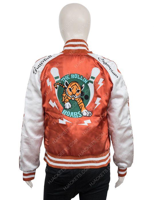 Sam Milkshake Karen Gillan Varsity Jacket
