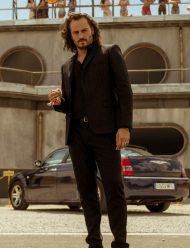 Sky Rojo Asier Etxeandia Black Suit