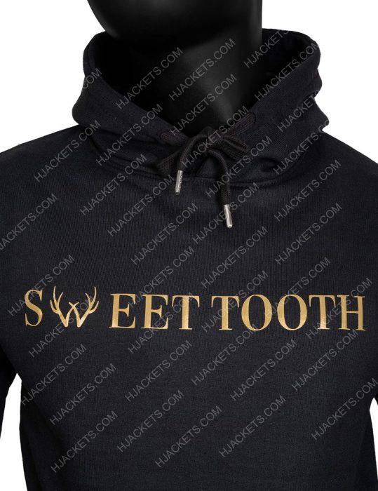 Sweet Tooth 2021 Unisex Black Hoodie for me