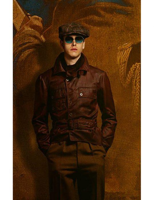 The-King's-Man-Harris-Dickinson-Leather-Jacket