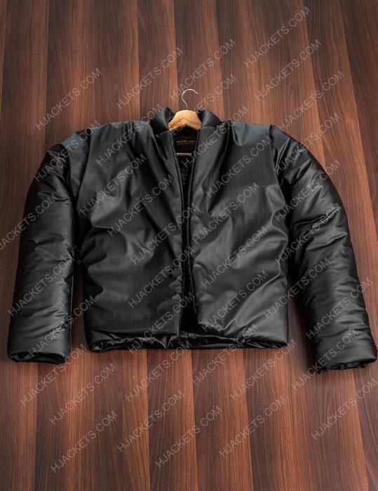 Yeezy Gap Black Round Jacket For Mens