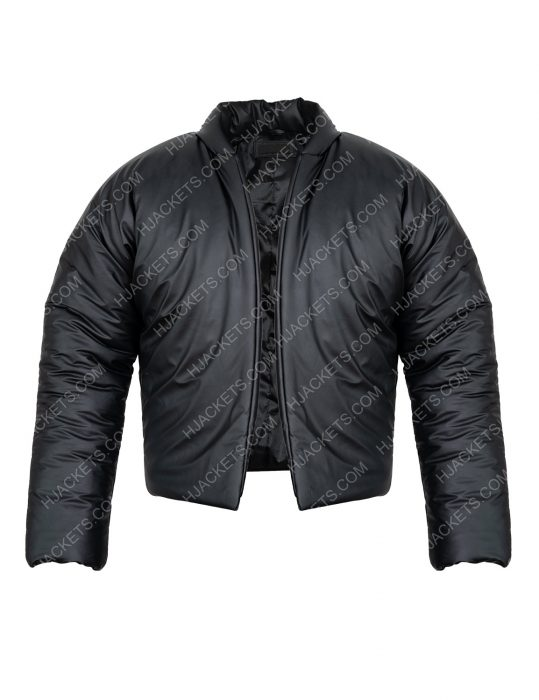 Yeezy Gap Round Leather Jacket For Mens