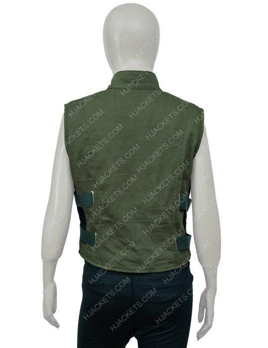 Yelena Belova Black Widow green Vest