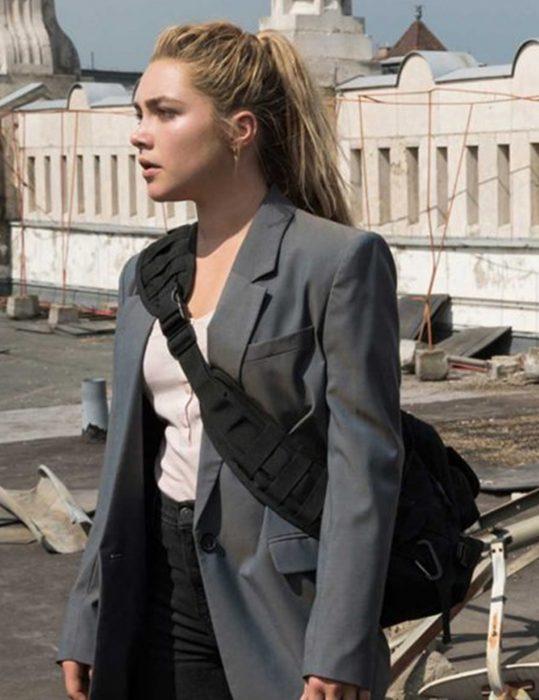 black widow 2021 yelena belova cotton blazer