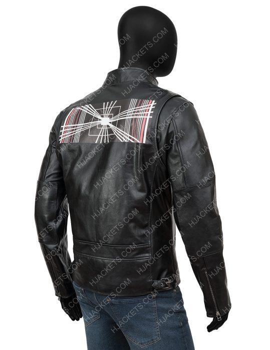 elon musk leather jacket